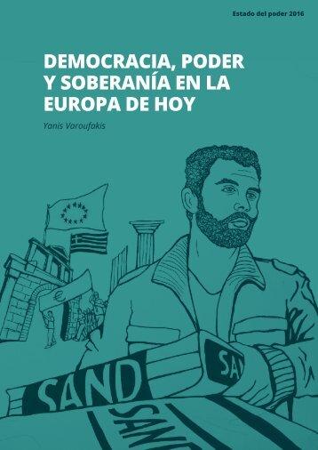 DEMOCRACIA PODER Y SOBERANÍA EN LA EUROPA DE HOY