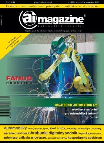 MIGATRONIC AUTOMATION A/S - Ai magazine