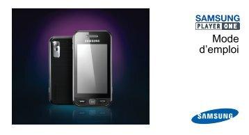 Samsung Samsung Player One noir - Open market (GT-S5230MSAXEF ) - Manuel de l'utilisateur 2.18 MB, pdf, Français