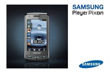 Samsung Samsung Player Pixon noir - Open market (GT-M8800DKAXEF ) - Manuel de l'utilisateur 4.26 MB, pdf, Français