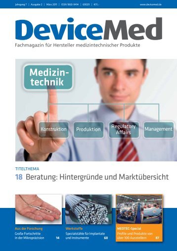 Medizin- technik - DeviceMed.de