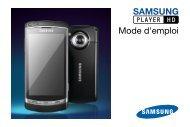 Samsung GT-I8910 (GT-I8910DKCXEF ) - Manuel de l'utilisateur 3.12 MB, pdf, Français