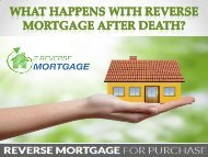 What Happens with Reverse Mortgage After Death? - Z Reverse Mortgage