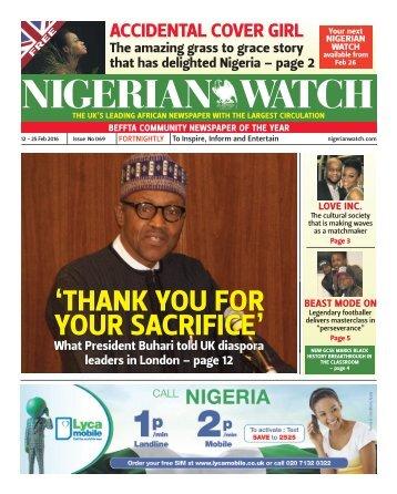 NIGERIAN WATCH
