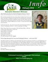 PAII newsletter February 2016