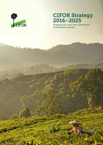 CIFOR Strategy 2016–2025