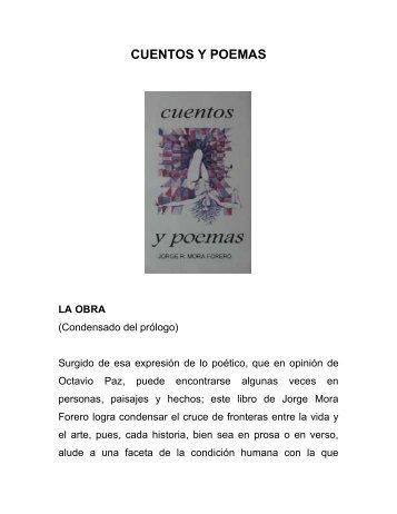 CUENTOS Y POEMAS - Jorge Mora Forero