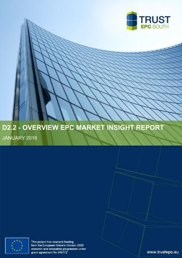 D2.2 - OVERVIEW EPC MARKET INSIGHT REPORT