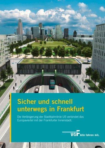 Sicher und schnell unterwegs in Frankfurt