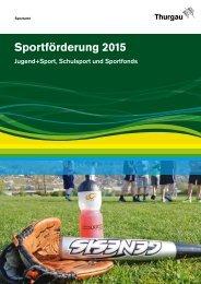 Sportförderung 2015