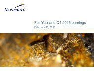 Full Year and Q4 2015 earnings