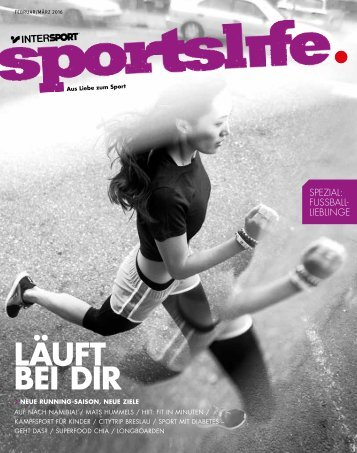 sportslife Februar/März 2016