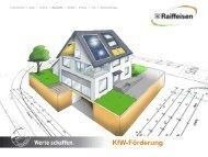 Raiffeisen Baustoffe // KfW-Förderung