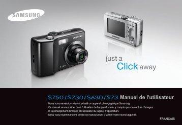 Samsung S630 (EC-S630ZBBC/FR ) - Manuel de l'utilisateur 9.41 MB, pdf, Français