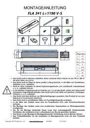 FLA 3#1 DE Montageanleitung