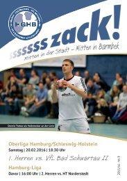Ssssssszack! HGHB vs. VfL Bad Schwartau 2