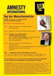 Tag der Menschenrechte - Evangelisch-Lutherische Kirche in Bayern
