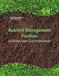Nutrient Management Practices