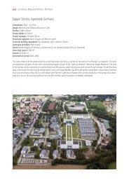 Sapper School, Ingolstadt, Germany - Von Gerkan, Marg und Partner