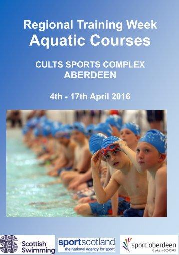 Aquatic Courses