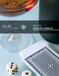 2014 /15 RAPPORT ANNUEL
