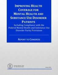 IMPROVING HEALTH COVERAGE MENTAL HEALTH SUBSTANCE USE DISORDER PATIENTS