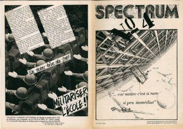 SPECTRUM #1/1980