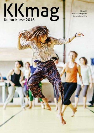 KKmag KreativeKurse 2016