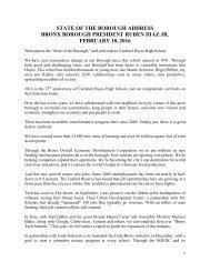 BRONX BOROUGH PRESIDENT RUBEN DIAZ JR FEBRUARY 18 2016