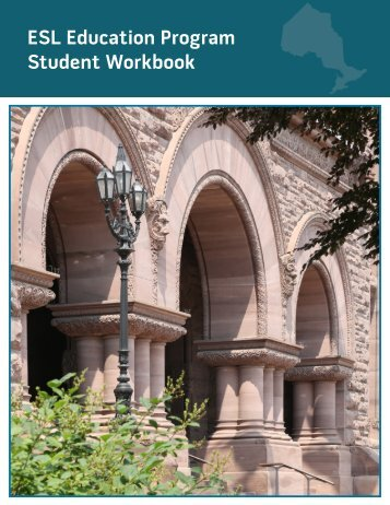 ESL Education Program Student Workbook