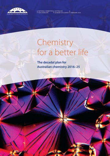 Chemistry for a better life