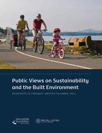 Public Views on Sustainability and the Built Environment