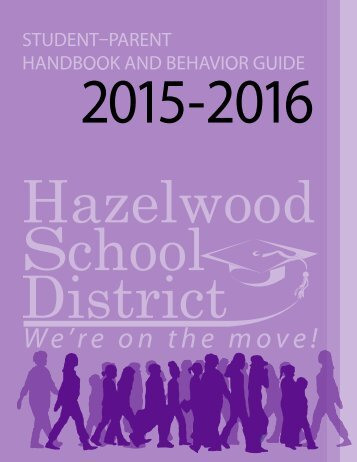 2015-2016 STUDENT-PARENT HANDBOOK / BEHAVIOR GUIDE