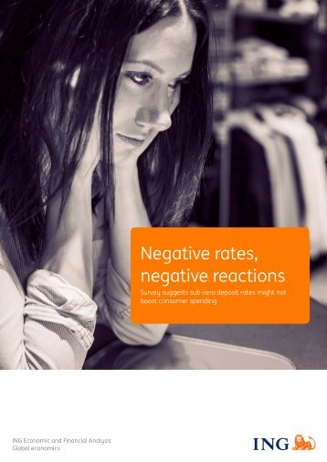 Negative rates negative reactions