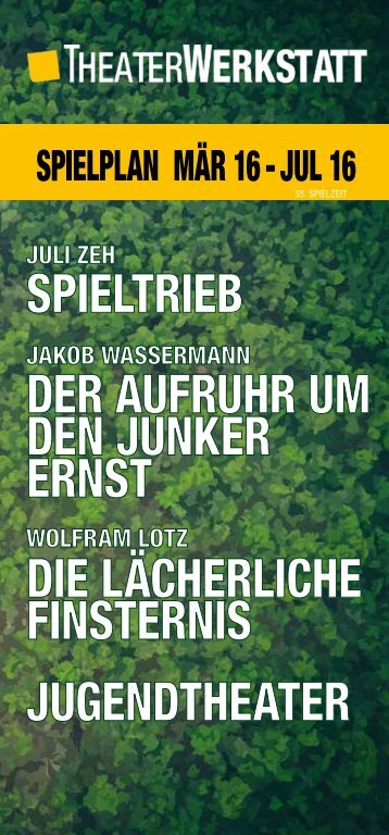 TheaterWerkstatt 03/07/16