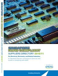 Singapore RoHS Compliant Suppliers Directory - Spring