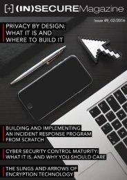 Visit the magazine website at www.insecuremag.com