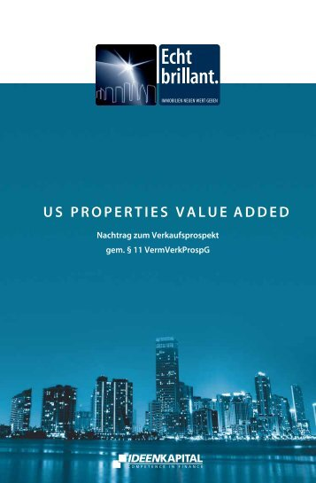 US PROPERTIES VALUE ADDED - Scope
