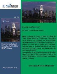 e-An N° 30 nota N° 3 Un Jenga para Vancouver por el arq. Carlos Sánchez Saravia