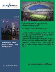 e-An N° 30 nota N° 5 El próximo Mundial de rugby de Japón el estadio que no pudo ser. por el arq. Carlos Sánchez Saravia