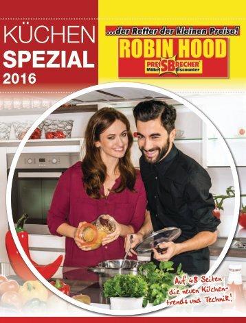 Unser Küchen Spezial Jahreskatalog 2016