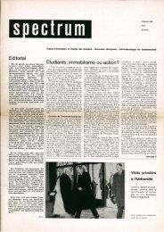 SPECTRUM #1/1965