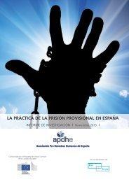 LA PRÁCTICA DE LA PRISIÓN PROVISIONAL EN ESPAÑA