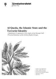 Al Qaeda the Islamic State and the Terrorist Identity