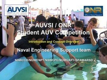 AUVSI / ONR Student AUV Competition - Amazon Web Services