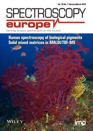 Raman spectroscopy of biological pigments Solid mixed matrices in MALDI/TOF-MS