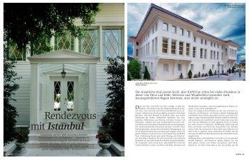 Rendezvous mit Istanbul