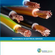 MECHANICAL & ELECTRICAL SERVICES