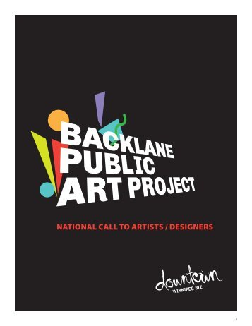 NATIONAL CALL TO ARTISTS / DESIGNERS