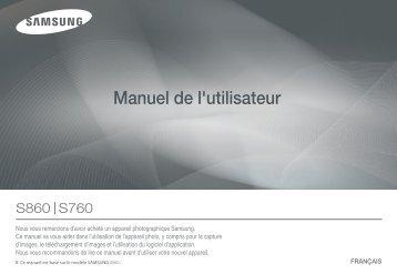 Samsung D860 (EC-D860ZSBB/FR ) - Manuel de l'utilisateur 7.57 MB, pdf, Français